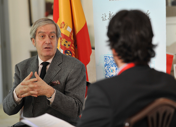 """西班牙驻华大使:""""一带一路""""倡议未来几年将发挥毋庸置疑的作用 ..."""