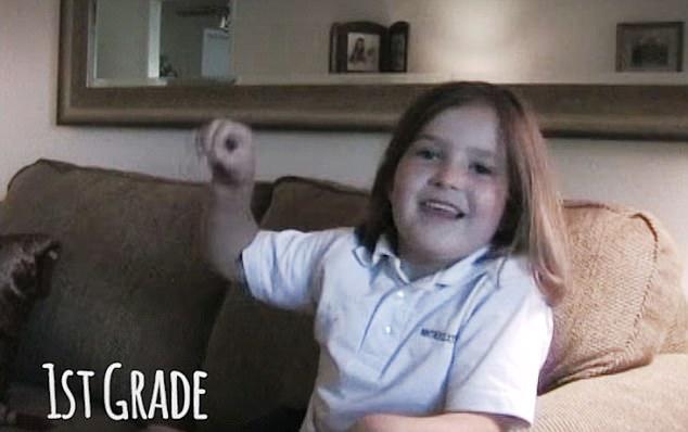 岁月如梭!美父亲用视频记录女儿成长历程
