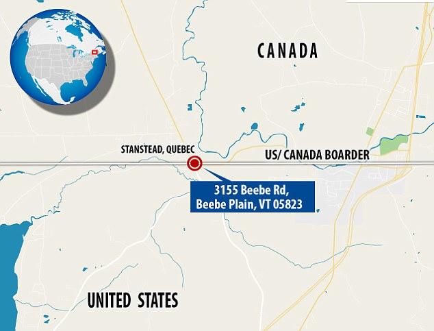 """美夫妇欲售""""神奇小屋"""" 南邻美国北接加拿大"""