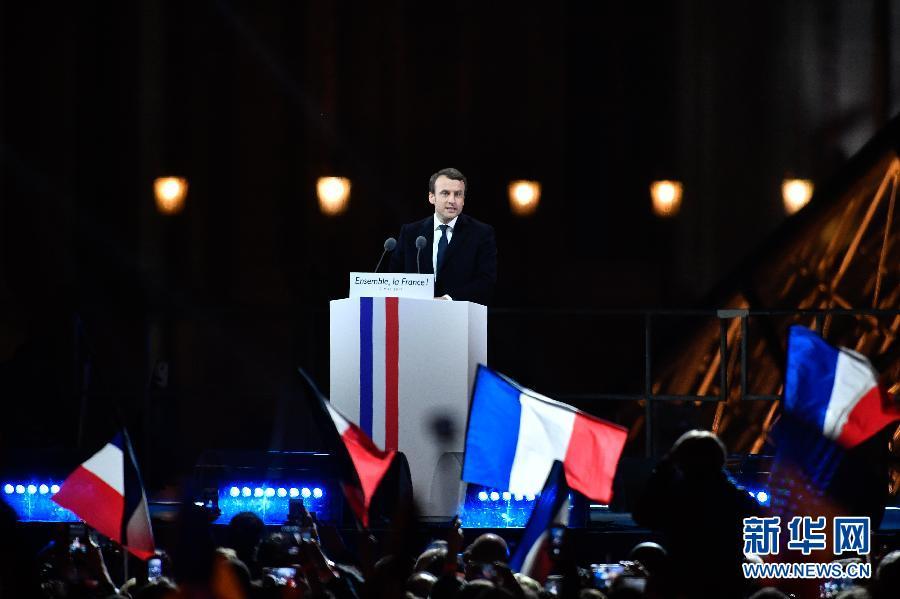 法国议会首轮选举结束 马克龙阵营大幅领先