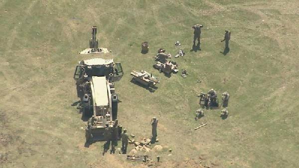 韩军方:神秘无人机拍摄韩国萨德部署地后坠毁
