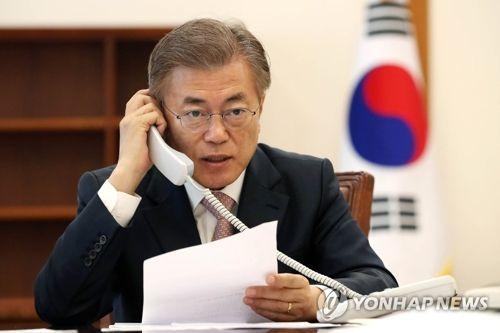 韩总统:若朝停止开发核导 韩愿无条件对话