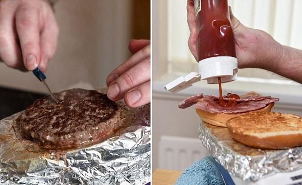 脑洞大开!英前餐厅老板用电熨斗做料理走红