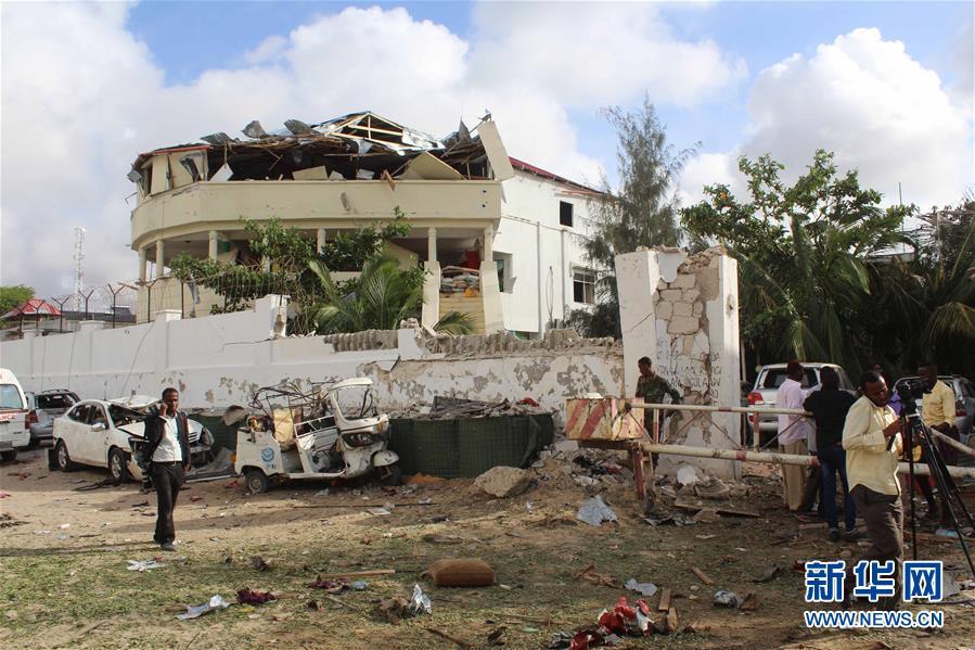 索马里摩加迪沙发生爆炸袭击事件