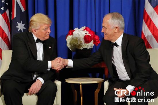 澳大利亚总理舞会搞笑模仿特朗普 视频遭泄露处境尴尬