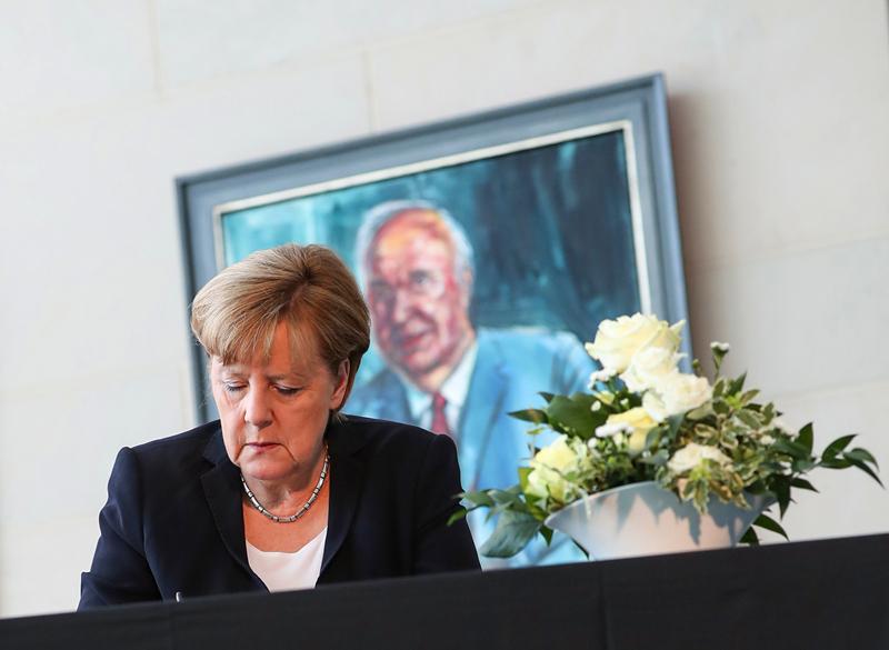 德国前总理科尔去世 享年87岁
