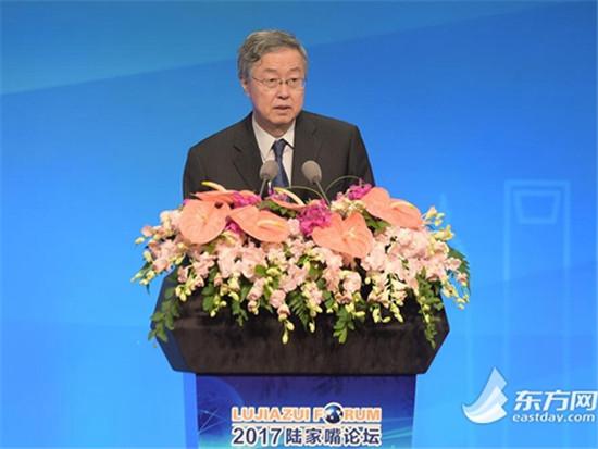 周小川:人民币跨境支付系统CIPS将落户上海