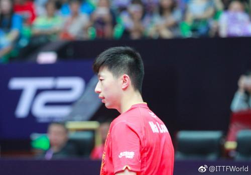 马龙退出2017年国际乒联中国公开赛男子单打比赛