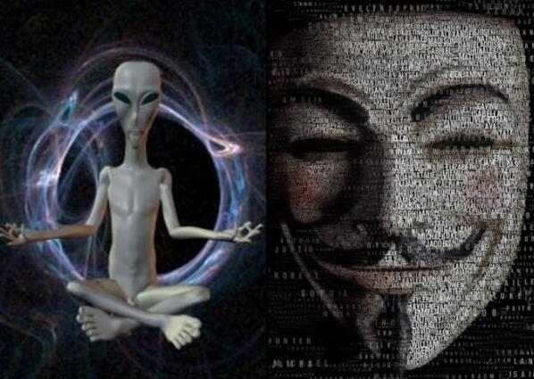 """国际黑客组织""""匿名者"""":NASA将公布发现外星人"""