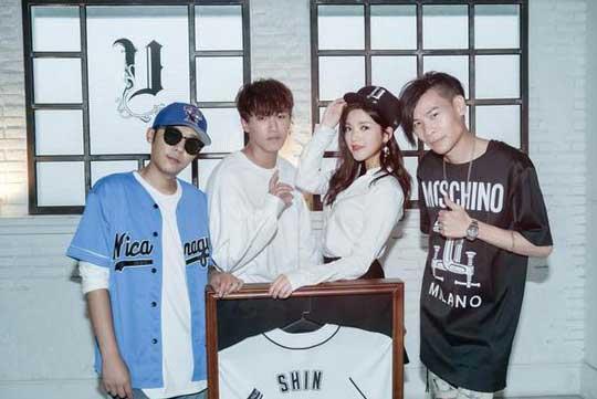 SHIN吴思佳正式签约Unleash 获赠专属球衣