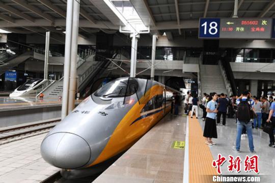 宝兰高铁甘肃段运行试验结束 开通运营步入倒计时