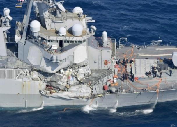 菲船长:美军舰突然驶向我们的航道 警告也不理