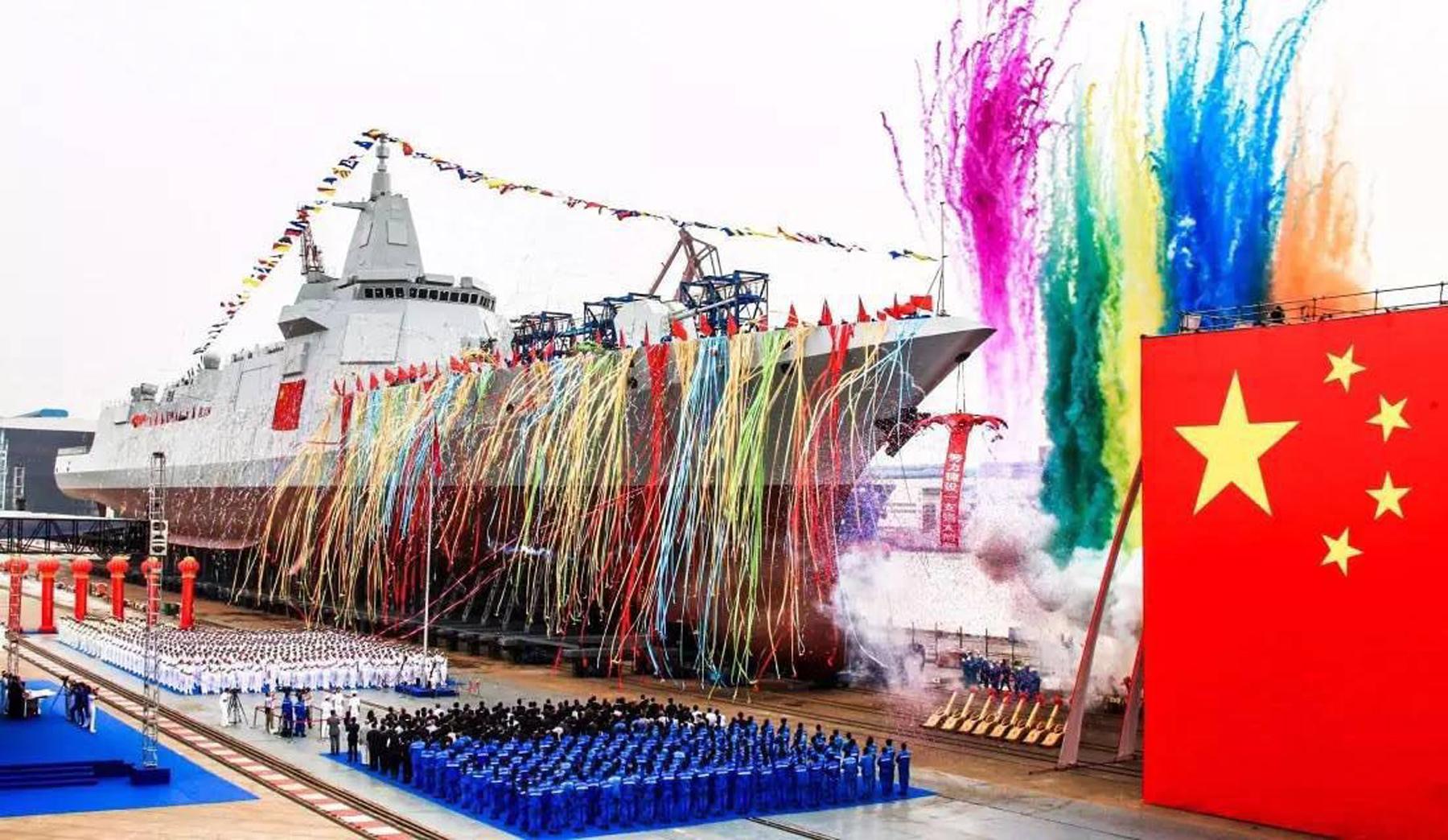 055大驱下水凭啥霸屏?能反导的亚洲最强驱逐舰