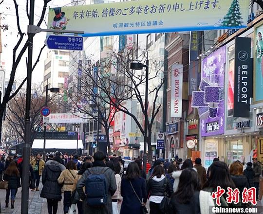 统计显示:5月访韩中国人为27万人次 小幅回升