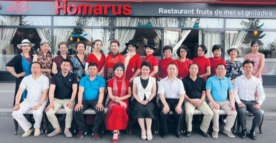 中法艺术交流协会力推中国服饰文化 旗袍、蒙古族服饰均在列 ...