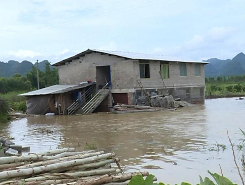 强降雨致广西出现洪涝灾害 近16万人受灾