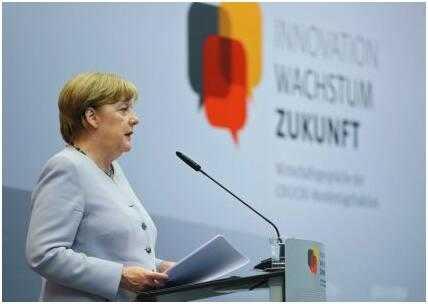 德国总理默克尔敦促欧盟成员国共同应对气候变化