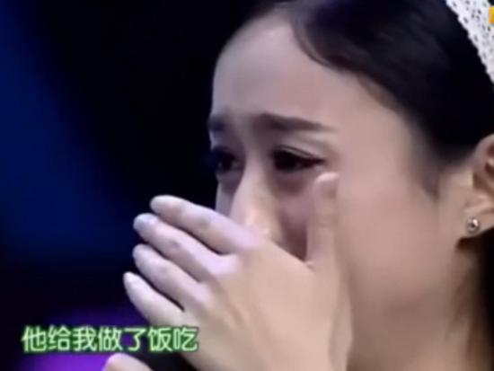 """赵丽颖节目上失控落泪 竟是因不为人知的""""年夜饭"""""""