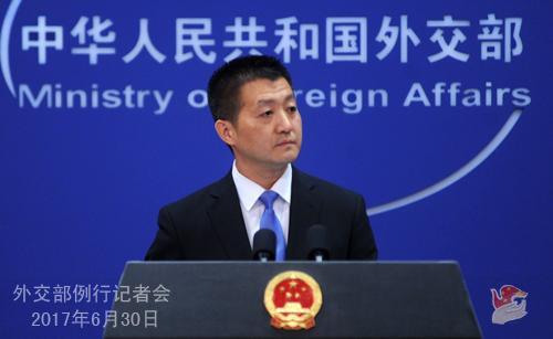 不丹抗议中国在锡金段修路 外交部做出回应