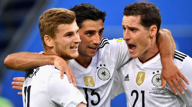 3天2冠!德国王朝已悄然建立 上二队照样夺冠
