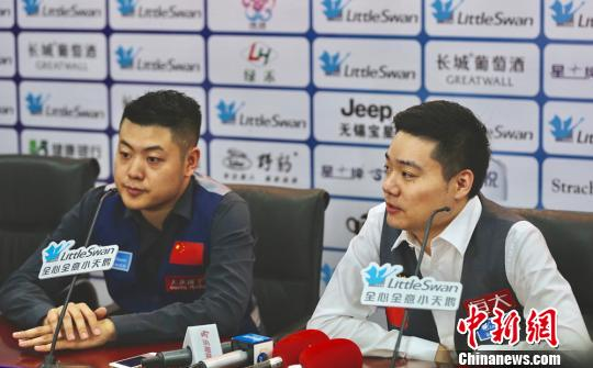 2017斯诺克世界杯首日 中国两代表队齐获胜