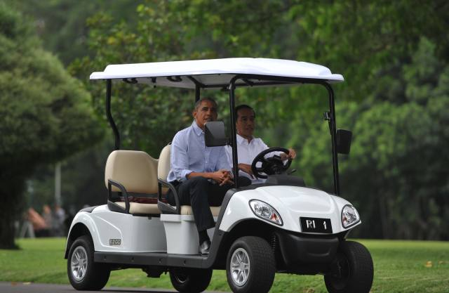 奥巴马卸任后为宣传印尼重返亚洲