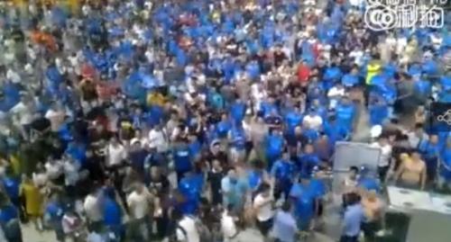 足协证实容大退赛当晚裁判被十余人群殴 公安将介入
