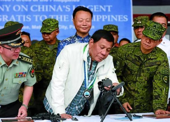 菲律宾防长:菲国防部可立即与中方开展情报共享