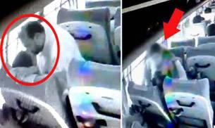 印度老师公交车后座强奸19岁女学生 司机录制视频上传网络