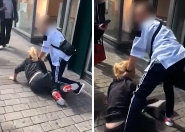 英国一孕妇商店偷窃被抓后对便衣保安大打出手