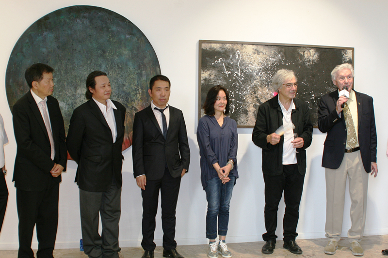 """巴黎亚洲当代艺术中心举办""""油墨对话""""群展"""