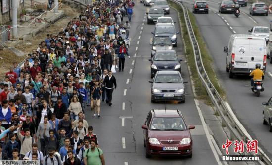 赴德难民数量显著下降 不足两年前的八分之一