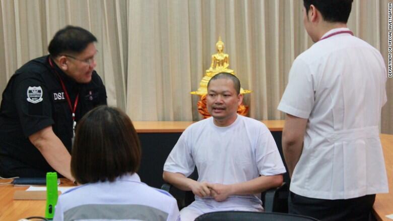 泰国一名被指控虐待儿童僧侣从美国被引渡回国