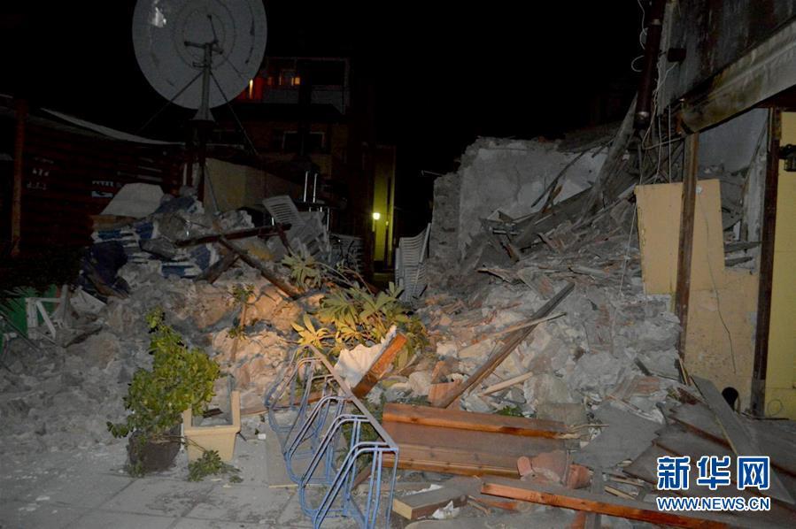 希腊发生6.4级地震 2人死亡