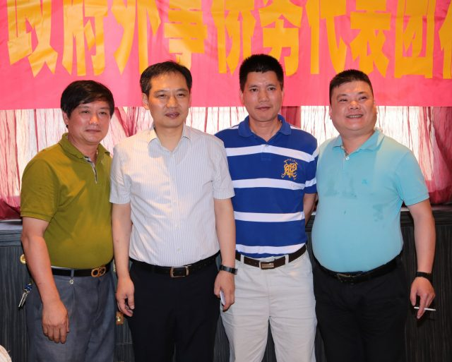 米兰侨团热烈欢迎浙江省外侨办侨务访问团