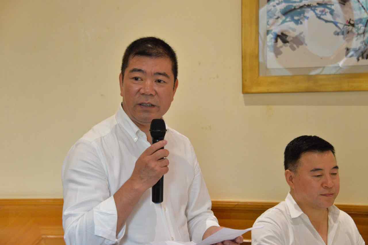 米兰侨团与中华中山文化交流协会代表团举行座谈