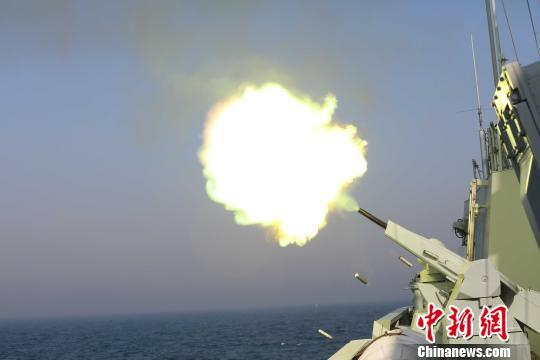 """中国海军056舰赴俄参加""""海洋之杯""""舰艇比赛"""