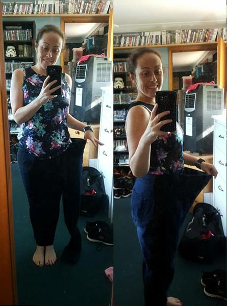 澳女子每天步行10公里上下班 1年内瘦身37公斤
