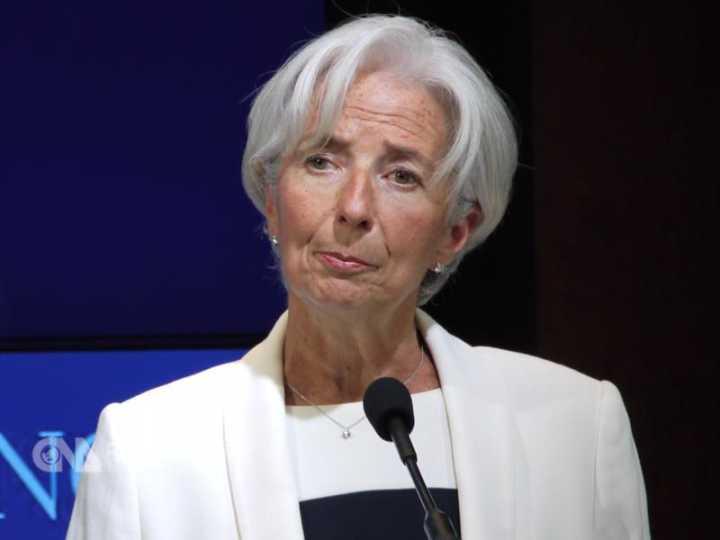 拉加德:10年后IMF总部或搬到北京