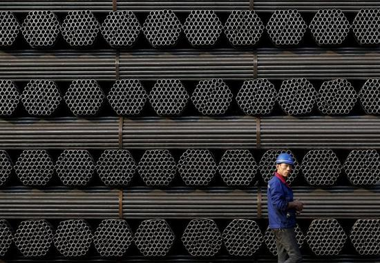 日媒:世界钢铁协会宣布中国上半年粗钢产量创新高