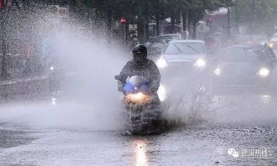 看海模式即将开启!德国全境降雨量创历史最高