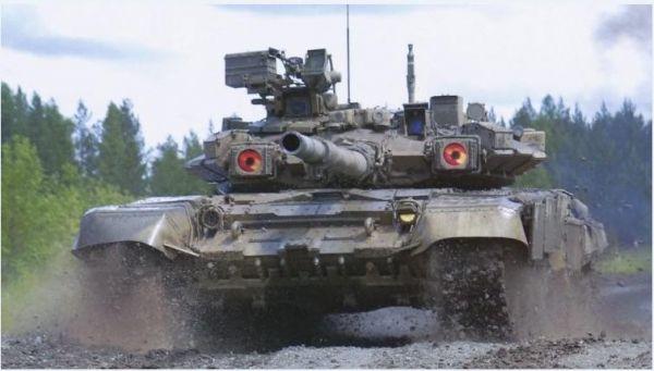 越南订购数十辆俄T-90坦克:总价2.5亿美元 俄提供贷款