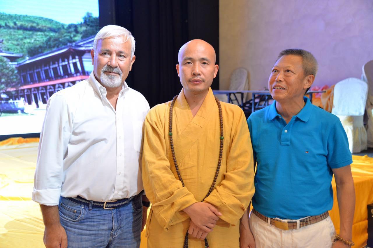 达照法师欧洲弘法之旅莅临米兰,讲座佛教的健康理念受欢迎 ... ...