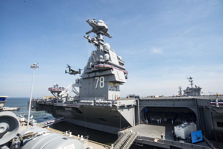 美媒:美航母面临过时 中俄导弹令其不敢靠近