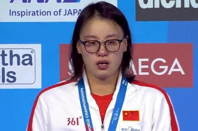傅园慧:没让国旗挂得最高很难受 忧心全运会