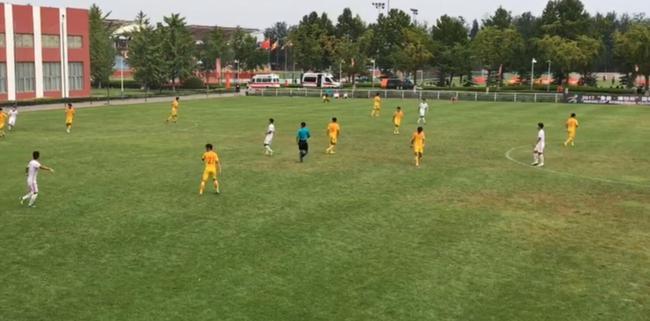 潍坊杯-恒大小将破门 U19国青队2-0鲁能青年队