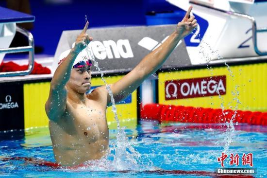 泳池代有才人出 孙杨李冰洁扛起中国泳军重担