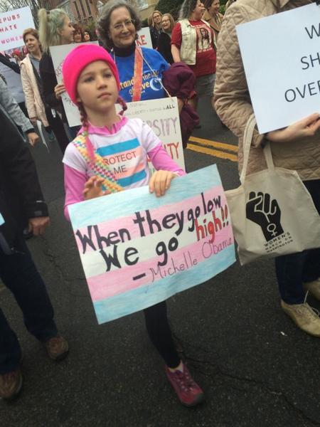 美变性女童分享个人经历 捍卫LGBT群体平等权