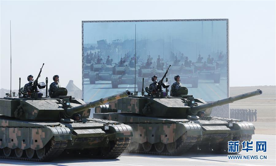 专家:陆军部队受阅顺序完全按照实战化的要求