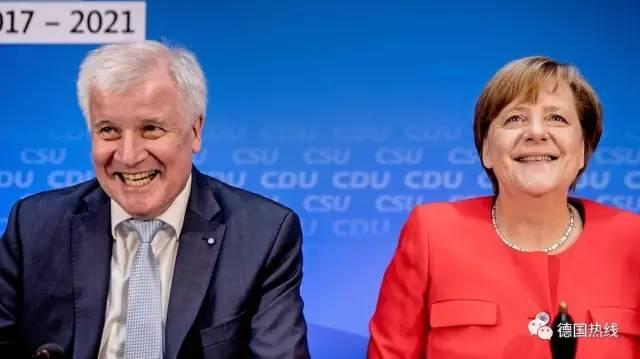 德国联盟党支持率攀升至2015年9月以来最高峰